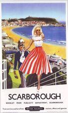 1958 British Rail Scarborough A3 Poster réimpression