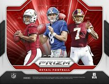 2019 Panini Prizm NFL Football card Box BRAND NEW - 3 LAZER PRIZMS! WOW