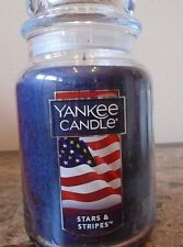 Yankee Candle  Stars & Stripes    22 oz 1 Single New  Free Shipping
