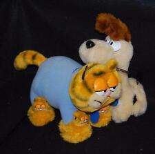 vintage stuffed animal garfield pajamas slippers and odie by Dakin