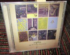 SOPHIA: MY MORNING; MIGRATION MUSIC CD, 12 GREAT TRACKS, EMO ROCK, GUC