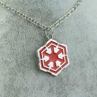 Collar Sith Estrella Wars 7 VII Logo Símbolo Darth Vader Colgante Necklace #1