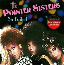 The Pointer Sisters - So Excited - New Factory Sealed CD