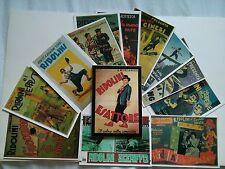 12 cartes postales Ridolini Larry Semon dans son portfolio