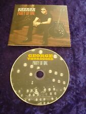 CD.GEORGE THOROGOOD.PARTY OF ONE.BLUES ROCK.GATEFOLD EDITION.15 TRACKS.ROUNDER.