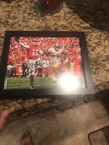 PATRICK MAHOMES Kansas City Chiefs Autographed Signed 8x10 Photo w/CO