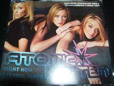 Atomic Kitten Right Now / Eternal Flame (Australia) CD Single – Like New