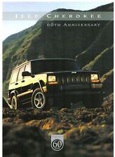 Jeep Cherokee 60th Anniversary Limited Edition 2000-01 UK Market Sales Brochure