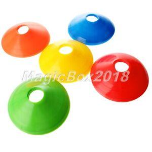 1/5pc Cone Saucer Soccer Football Marker Discs Training Outdoor Sport Skateboard