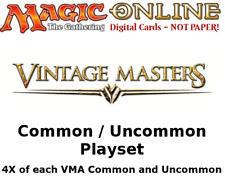 MTGO Magic Online VMA Vintage Masters Playset 724 Cards 4x Common/Uncommon
