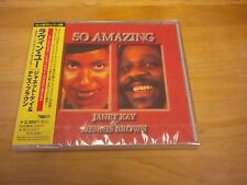 "Janet Kay & Dennis Brown ""So Amazing"" CD Sealed 1993 Japan"