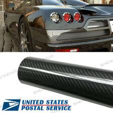 Us Waterproof Carbon Fiber Vinyl Car Wrap Sheet Roll Film Sticker Decal Paper Fits Pontiac Sunfire