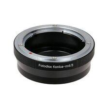 Fotodiox Objektivadapter Konica Auto-Reflex Lens for MFT (Micro-4/3 M4/3) Camera