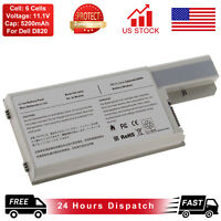 6 Cells Battery for Dell Latitude D531 D820 D830 DF192 WN979 312-0393 451-10326