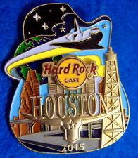 HOUSTON TEXAS *ICON CITY SERIES 2015* NASA SPACE SHUTTLE OIL Hard Rock Cafe PIN