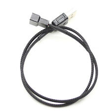 Pop USB A male to Fan 2-Pin/3-Pin 3pin /4-Pin 4pin Adapter Cable for 5V GK
