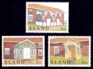 Aland 1998 Architecture, Buildings, Traditional Porches / Doorways,  MNH/UNM