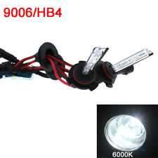 2PCS 9006 6000K White HID AC Xenon 35W Bulb Headlight Light Replacement FIT AM