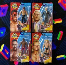 WWE Mattel WCW Flashback Basic Series Complete Set Of 4 New JJ Dillion BAF NWA