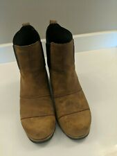 Women's Brown Sorel Ankle Boots 8M