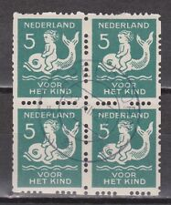 Roltanding 83 blok sheet used TOP CANCEL APELDOORN NVPH Netherlands syncopated