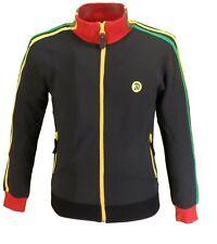 Trojan TR//8243 black Jamaica logo short-sleeved T-shirt sizes small-3XL