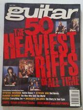 Guitar For The Practicing Musician May 1995 Metallica AC/DC Slayer Sabbath Bush