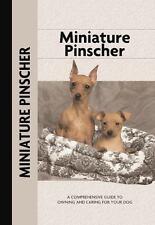 Miniature Pinscher (Comprehensive Owner's Guide) by Charlotte Schwartz (2016,.