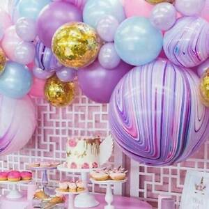 Colorful Balloons 22'' 4D Latex Balloon Wedding Baby Shower Birthday Party Decor