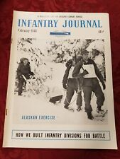 Vintage February 1948 The Infantry Journal Magazine for The Ground Combat Forces