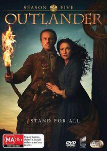 Outlander Season 5, NEW SEALED AUSTRALIAN RELEASE REGION 4 LOT 400
