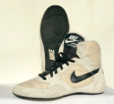 Nike Greco Supreme Wrestling Shoes Size 8 (2003) White Black Mens RARE