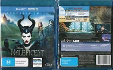 MALEFICENT Blu-ray + Digital HD Copy Plus REGION A, B, C oz seller Disney