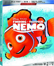 Finding Nemo - Blu-ray Movie [Disney Pixar Animated Comedy Family Adventure] New