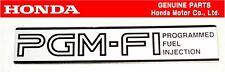 HONDA GENUINE INTEGRA DA6 XSi Intake Manifold Emblem Badge OEM