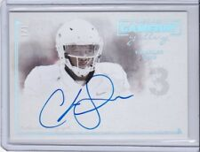 2014 PRESS PASS GAMEDAY GALLERY ON CARD AUTO 1/1 CHARLES SIMS CARD #GG-CS