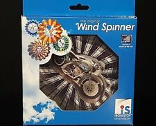 """Motorcycle Wind Spinner, Made in Usa 6"""""""