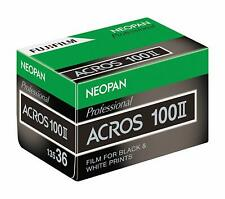 FUJIFILM Japan BW Neopan 100 ACROS II 35mm 36 Pcs 135 ACROS100 NP 36EX