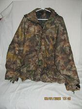 Mad Dog Dry Gear ADV Timber Camo Silent Shadow Hunting Jacket Hood Waterprf 2XL