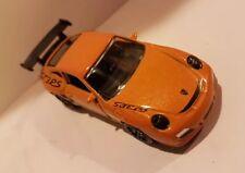 Majorette 209D 1/59th Porsche 997 911 GT3-RS Orange 2011 NEW diecast model