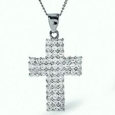 Wedding White Gold I1 Fine Diamond Necklaces & Pendants