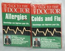 2 Cassette Tapes-Talk to the Doctor: Colds and Flu / Allergies - Audio Books NIP