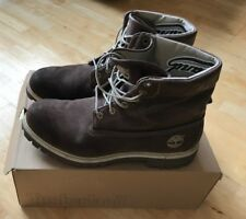 Timberland Mens Classic 6 Inch Brown Nubuck Leather Boots UK size 10.5