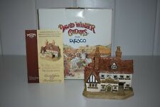 David Winter Cottages The Good Intent D1014 Pubs & Taverns England Box Coa 1997