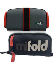 Mifold Booster Grab And Go Car Booster Seat With Travel Bag