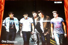 ONE DIRECTION 1D / VIOLETTA RARE RUSSIAN FOLD OUT POSTER 2013 IN MINT CONDITION