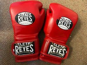 Cleto Reyes Red  leather 16oz Sparring Gloves