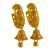 Bollywood Goldplated Earrings Indian Women Hoop Wedding Fashion jewelry Gift