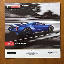 Ford GT Motorcraft 2017 Calendar Mustang Focus RS Raptor NASCAR Fusion Fiesta ST