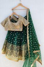 Lehenga choli wedding designer bollywood bridal skirt blouse lengha sari dupatta